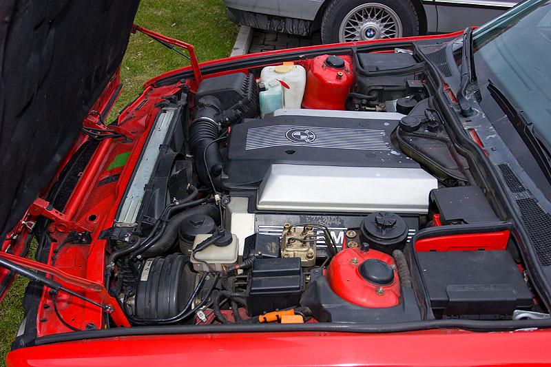 """V8-Motor mit 286 PS im BMW 740i von Mario (""""Mario RE"""")"""
