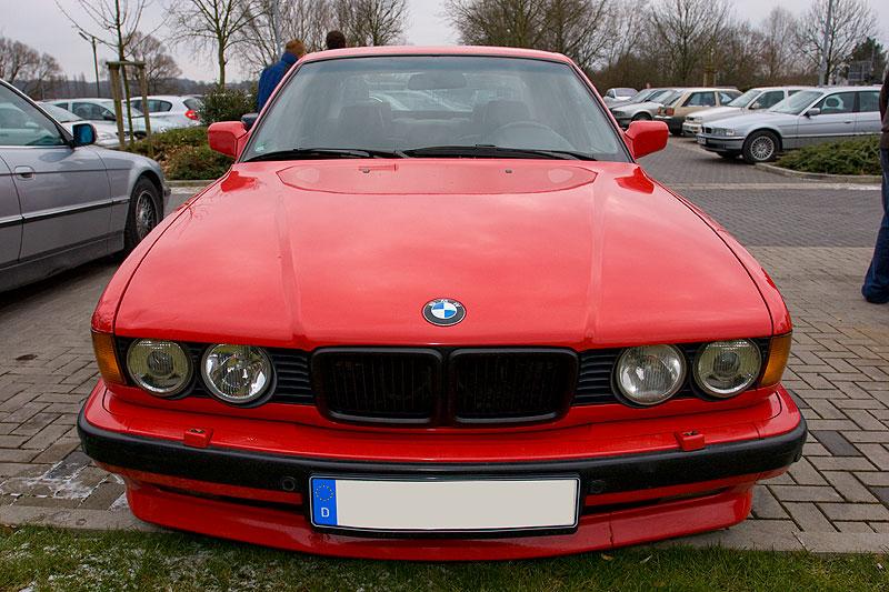"""roter BMW 740i (E32) mit AC Schnitzer Ausstattung von Mario (""""Mario RE"""")"""
