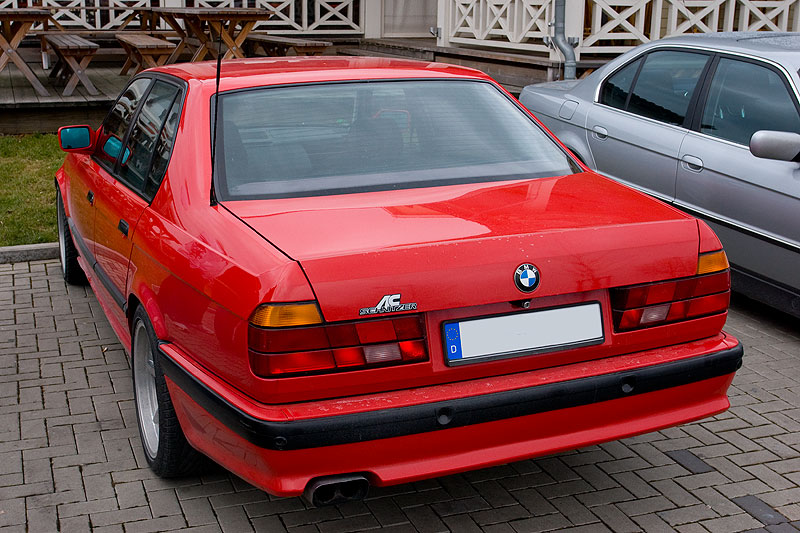 Marios BMW 740i mit AC Schnitzer Ausstattung