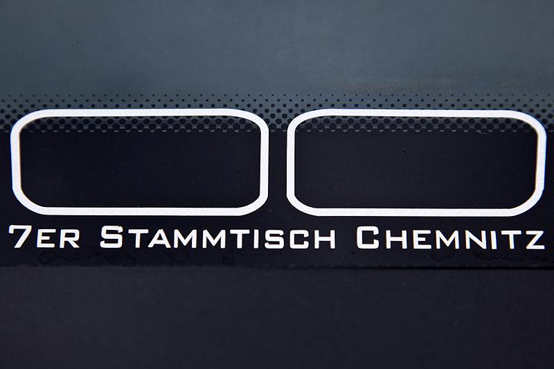 7er-Stammtisch Chemnitz Aufkleber