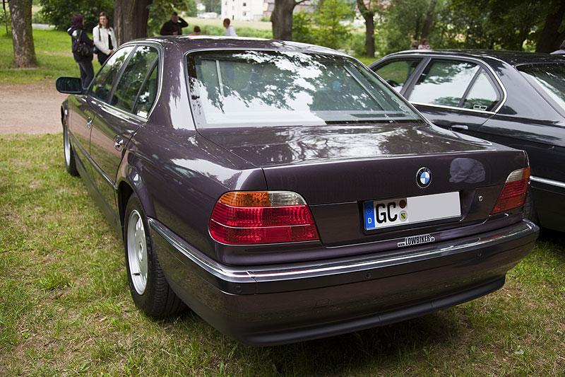 """BMW 730iA (E38) Chemnitz Stammtisch Organisator von Markus (""""Lowbiker"""")"""