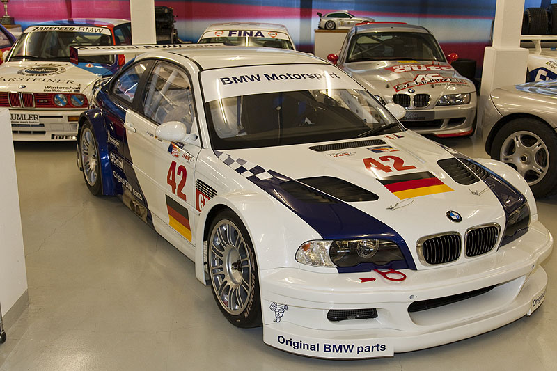BMW Motorsport Fahrzeuge