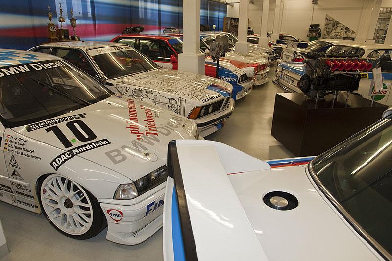 BMW Motorsport Autos in der BMW Classic