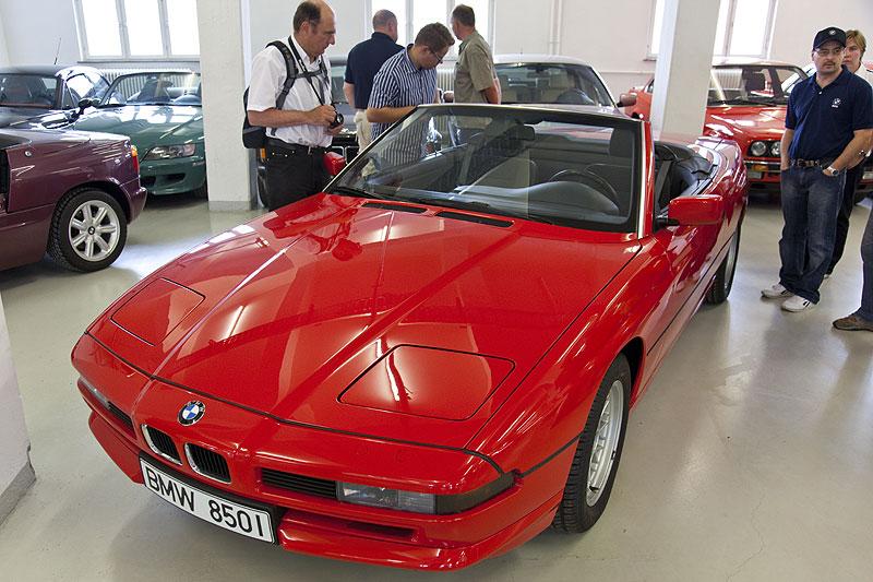 Studie, die nie in Serie ging: eine Cabrio-Variante vom 8er (Modell E31)