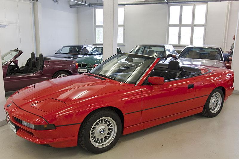 Foto: BMW 850i Cabrio, Einzelstück (vergrößert)