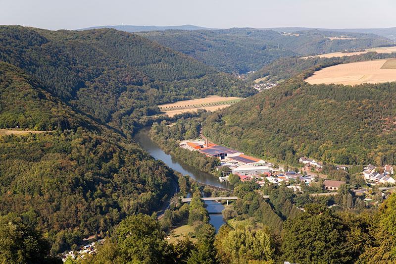 Den schönen Ausblick vom Dach des Hotels Lahnstein blieb den Fotografen vorbehalten.
