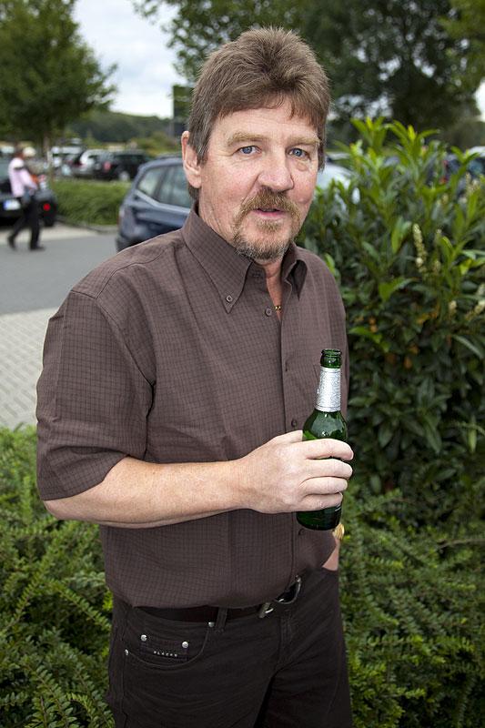 """Peter (""""peter-express"""") gab auf seinen 50. Geburtstag eine Runde"""