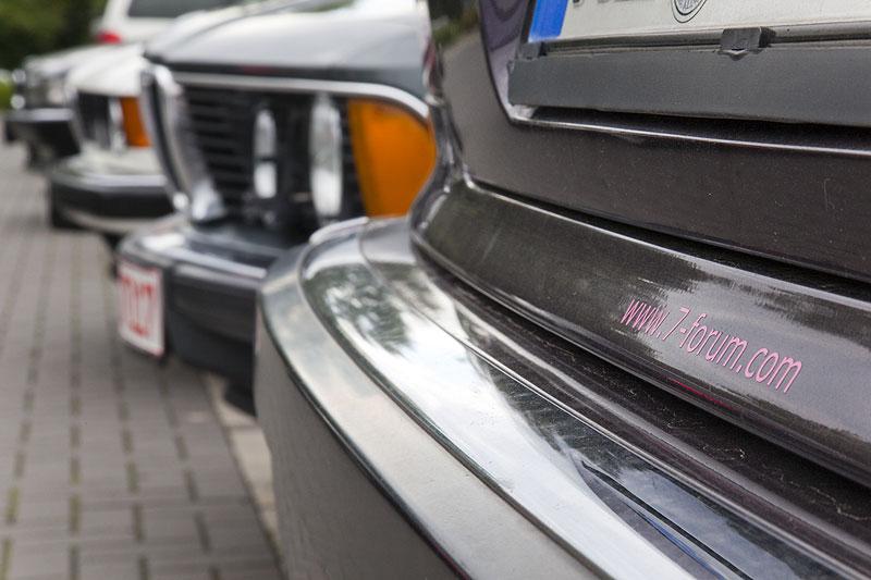"""BMW 728i von Volker (""""CountZero"""") mit 7-forum.com-Aufkleber"""