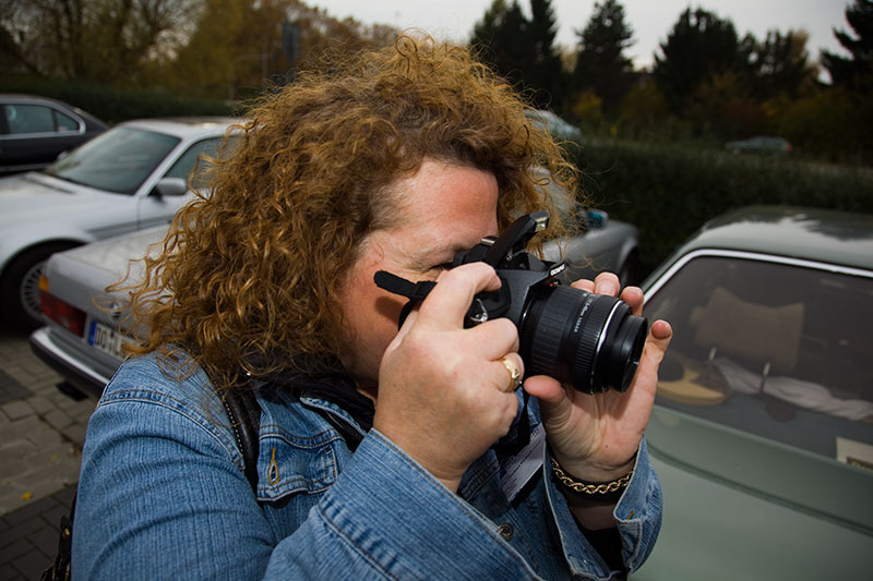 "Ulrike (""Jeff Jaas"") fotografierte wieder fleißig"