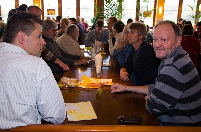 Rhein-Ruhr-Stammtisch im November 2009 in Castrop-Rauxel