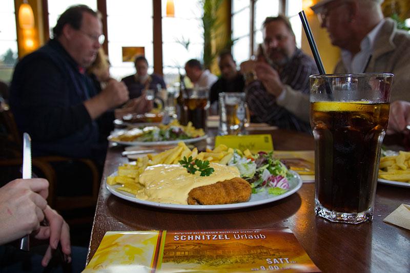 Schnitzelurlaub im Café del Sol: all you can eat Schnitzelflat für 9,90 Euro