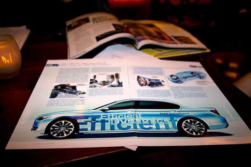 erster Entwurf für das Layout einer 7-forum.com Forumsezeitschrift