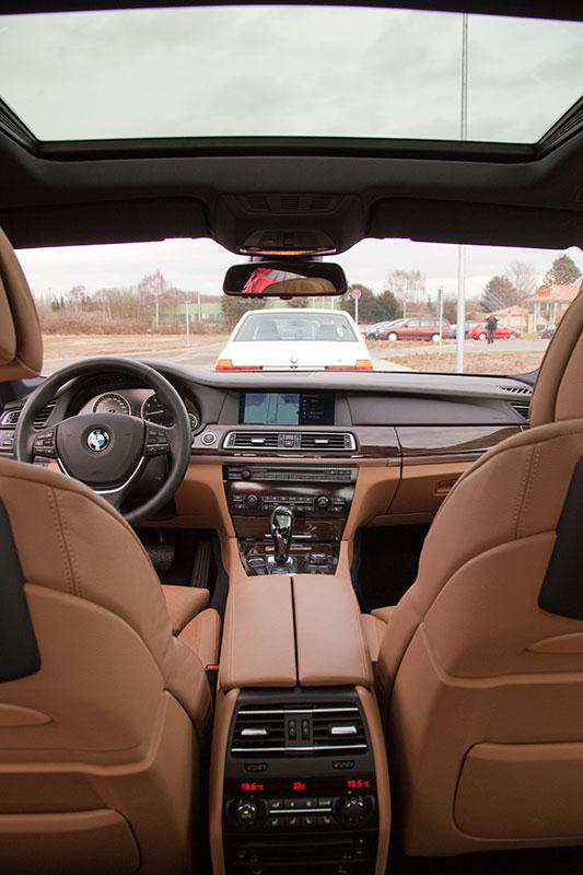 BMW 750i (F01), Innenraum