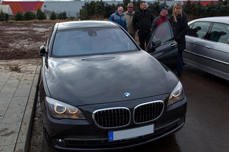 BMW 750i (Modell F01) von Alexander (alandar) auf dem 44. Rheinischen Stammtisch