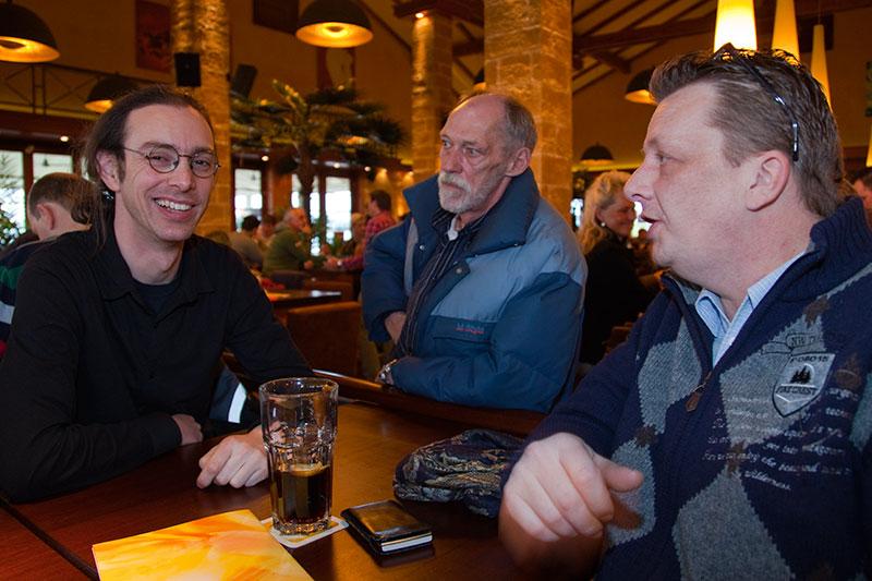 Nikolaous (Nikos.Tz), Walter (wbwaldi) und Frank (Franky740)