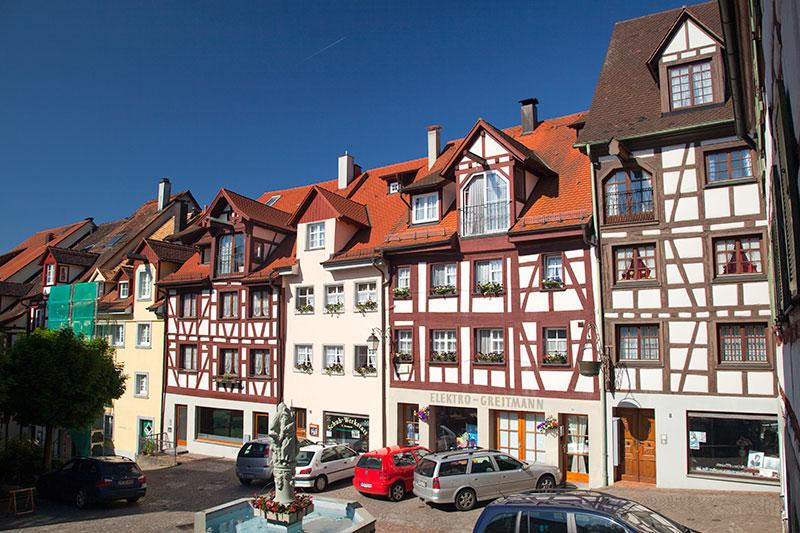 Foto Altstadt Von Meersburg Vergr 246 223 Ert