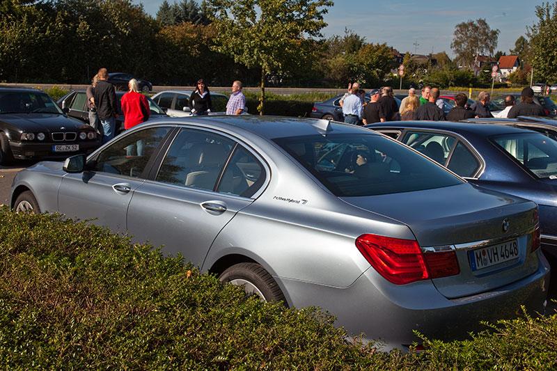 BMW Active Hybrid 7 (F04) auf dem Rhein-Ruhr-Stammtisch