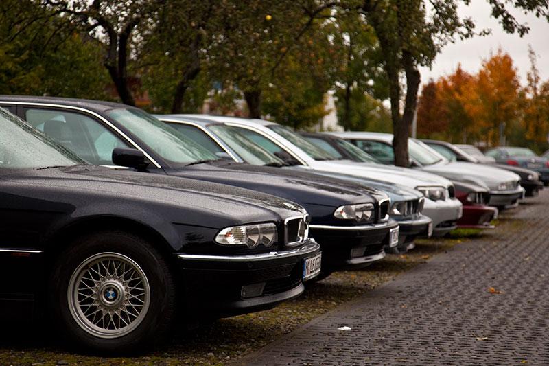 BMW 7er-Reihe beim ersten Hildesheimer Stammtisch