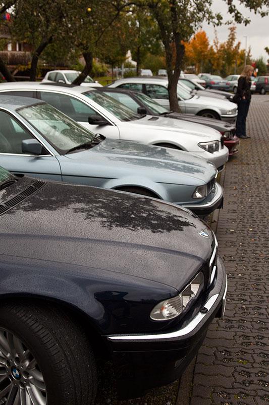 BMW 7er-Reihe beim ersten 7er-Stammtisch in Hildesheim
