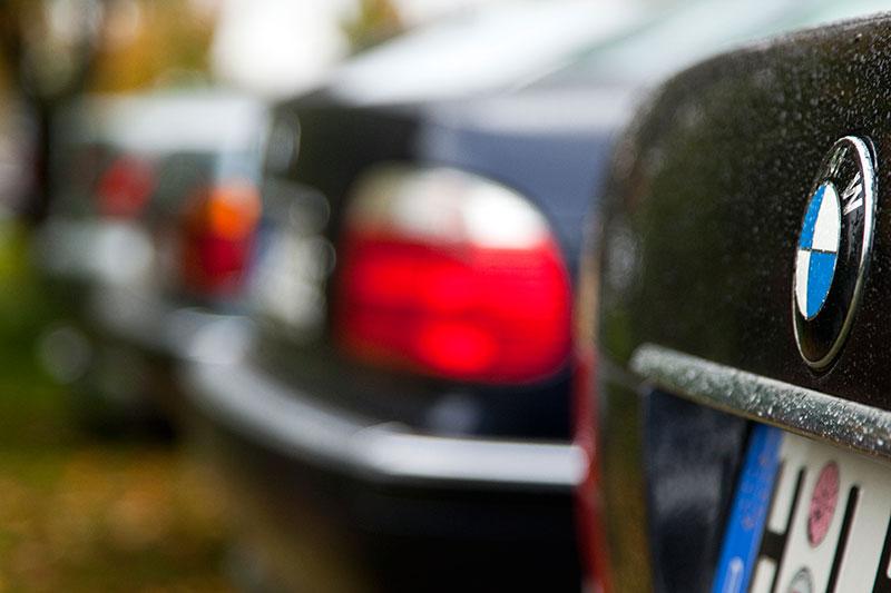 BMW 7er Reihe beim 7er-Stammtisch in Hildesheim