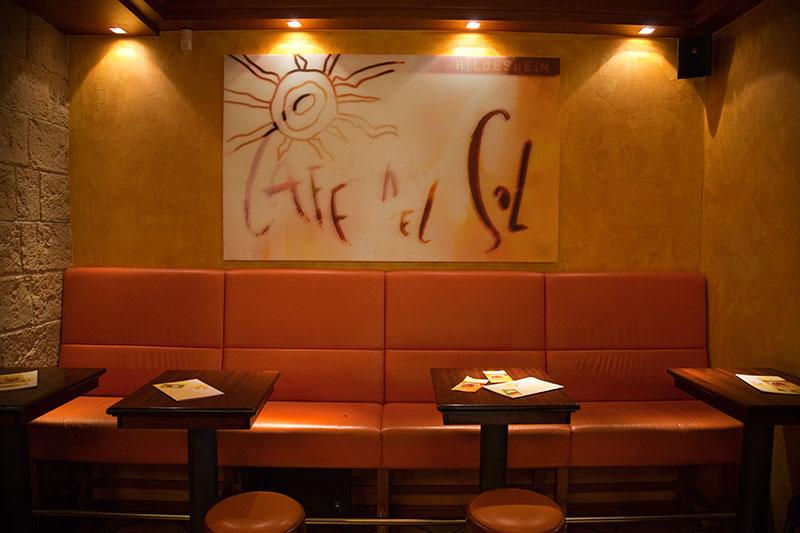 Café del Sol in Hildesheim, das erste Café del Sol in Deutschland