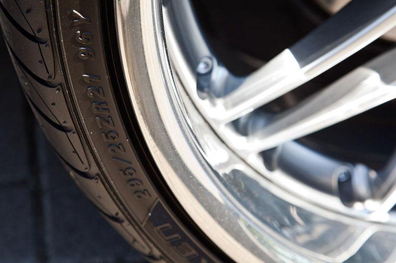 21 Zoll Reifen: 295/25 ZR 21 auf Breyton Felge auf dem BMW 728iL von Wilhelm ('hollyjonson')