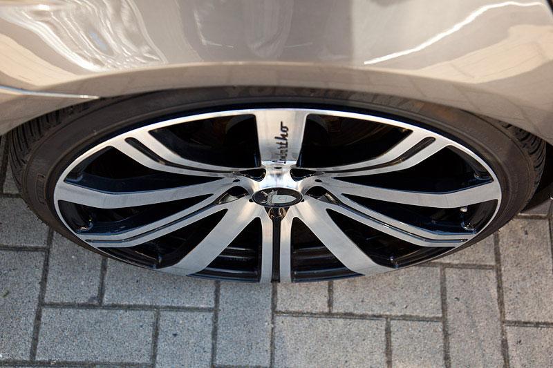 22 Zoll Lombartho Rad auf dem BMW 745i von Daniel ('daywalker78')