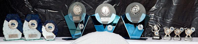 Beim BMW Treffen auf Pauls Bauernhof 2011 gab es im Vergleich zu den Vorjahren nur wenige Pokale zu gewinnen.