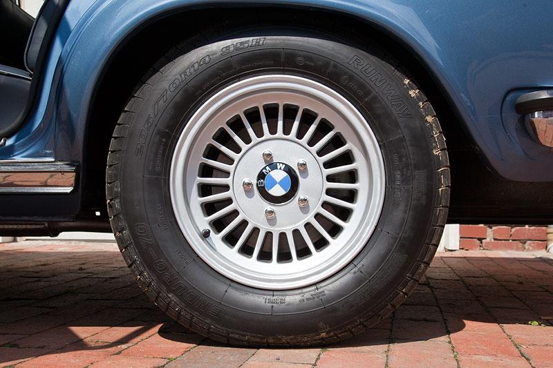 205/70 R 14 Bereifung auf orig. BMW Alufelge