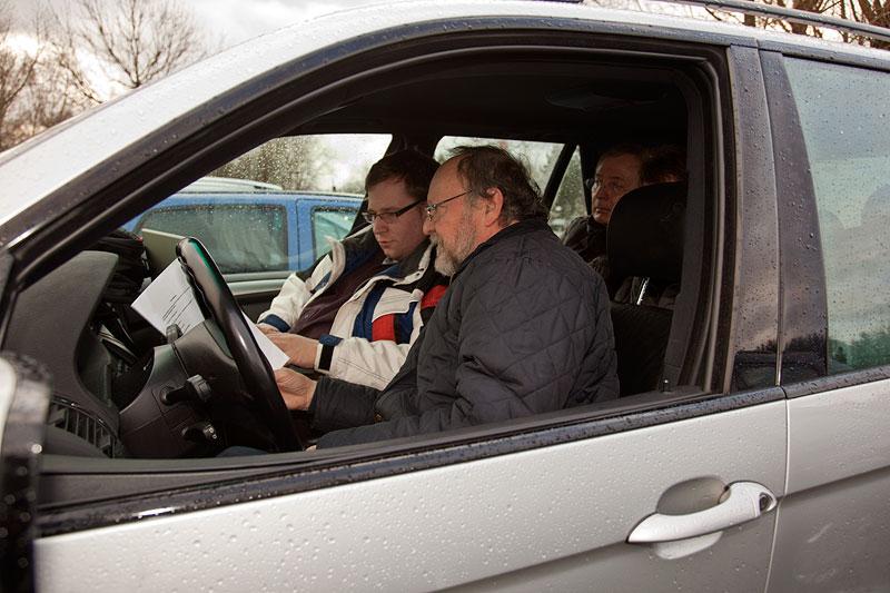 Peter ('TurboPeter') beim Codieren seines Winterautos BMW X5 3.0i (E53)