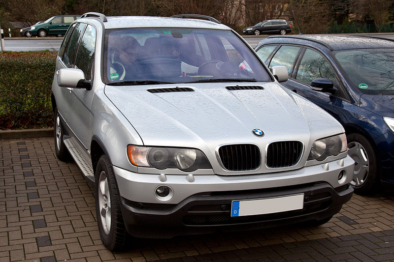 BMW X5 3.0i (E53) von Peter ('TurboPeter') beim Neujahrs-Rhein-Ruhr-Stammtisch
