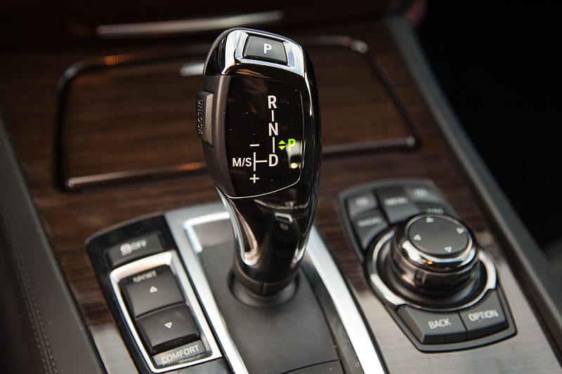 BMW 730d (F01) von Dirk ('Dixe'), Schalthebel, Fahrerlebnisschalter und iDrive Controller