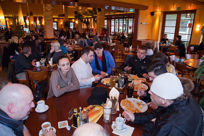 Stammtischrunde im Café del Sol in Castrop-Rauxel