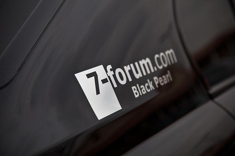 Forums-Aufkleber auf der C-Säule mit Forumsnamen von Ingo