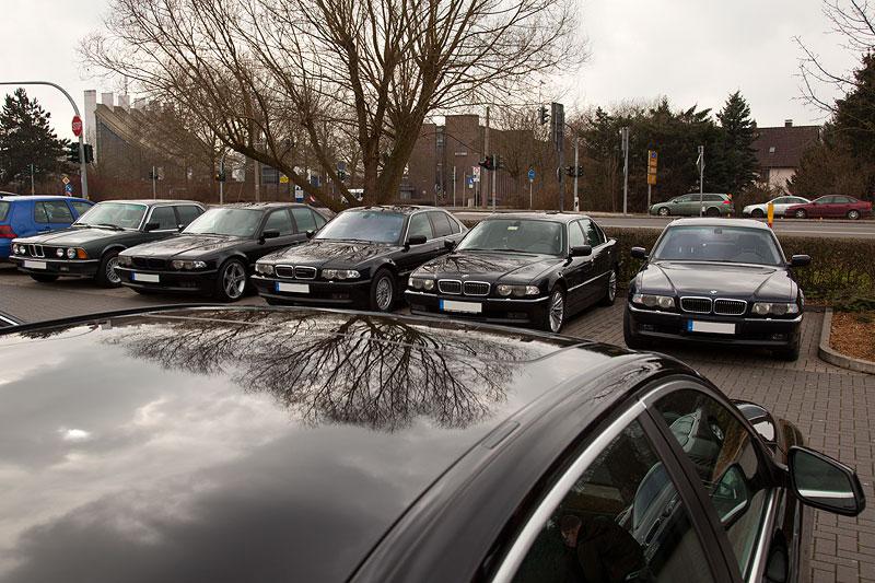 BMW 7er-Stammtisch Rhein-Ruhr im März 2012
