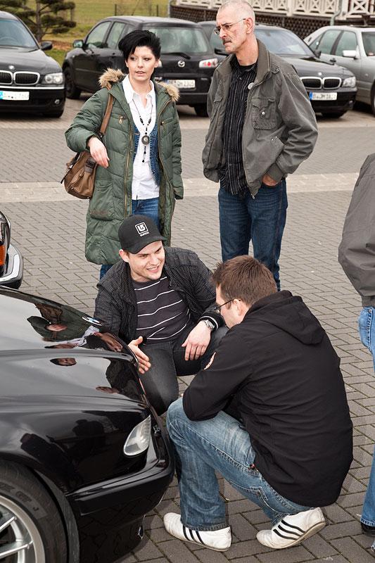 Juelz ('juelz') an seinem BMW 740i (E38)