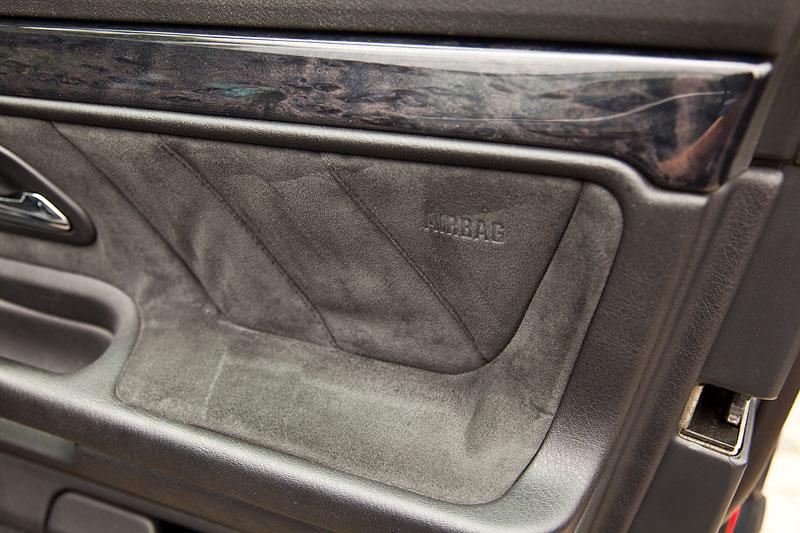 Alcantara und Leder Innenausstattung im BMW 740i (E38) von Waldemar ('740ger')
