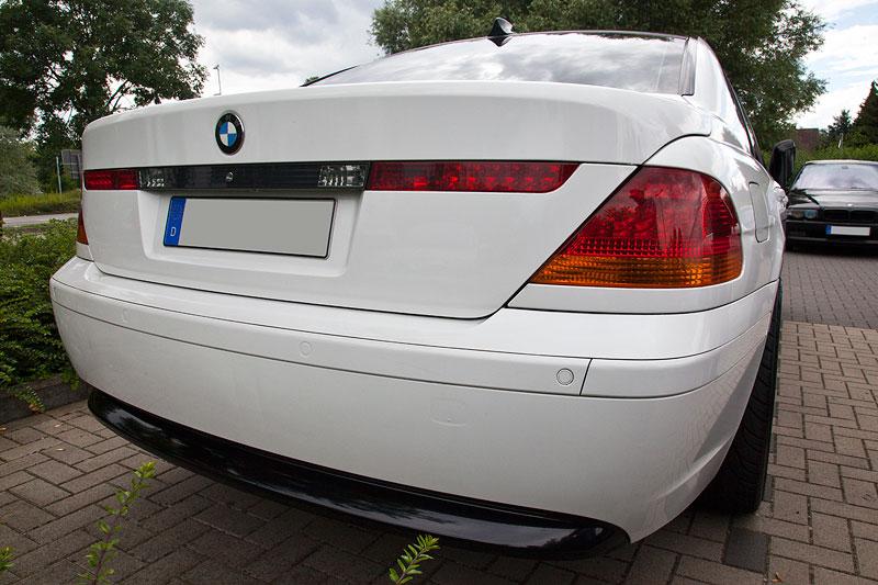 Heckansicht: BMW 730d (E65) von Dennis ('Dennis730d')