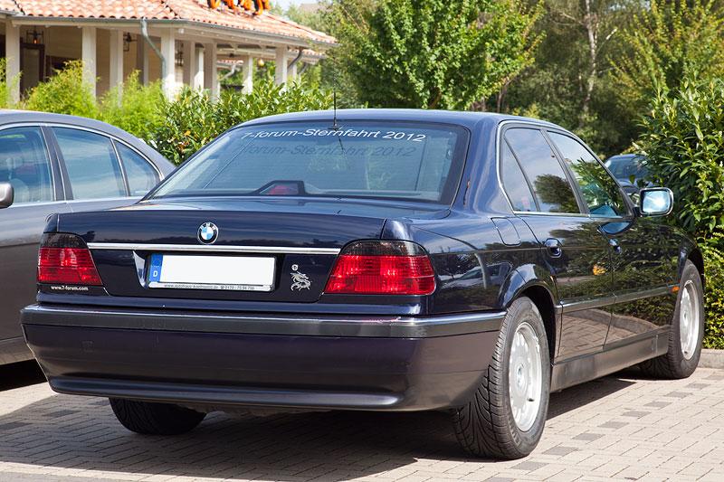 BMW 740i (E38) von Olaf mit Sternfahrtaufkleber