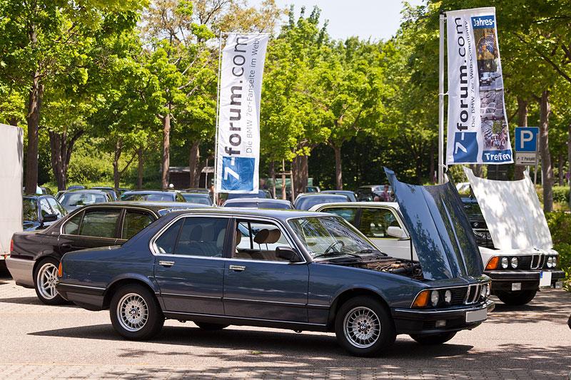 BMW 745i E23 Bj 683 Von Hauptorganisator Matthias Telkom