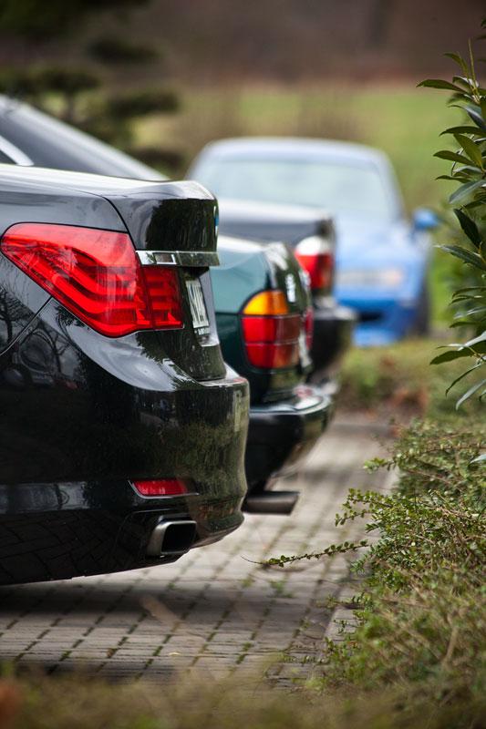 BMW 7er-Reihe beim Rhein-Ruhr-Stammtisch in Castrop-Rauxel