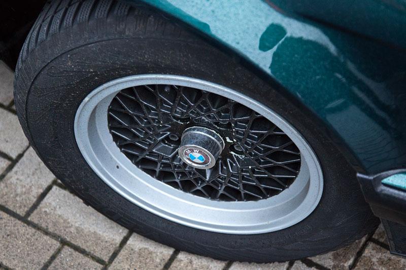 BMW 730i (V8, E32, Bj. 1993) von Siegmund ('biber1956'), BBS Felge
