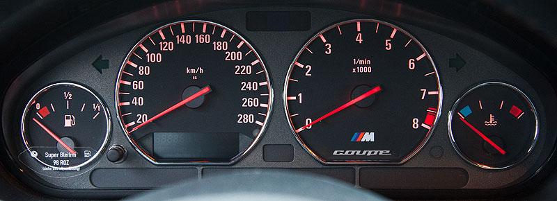 BMW M Z3 Coupé von Michael ('McTube'), Tacho-Instrumente