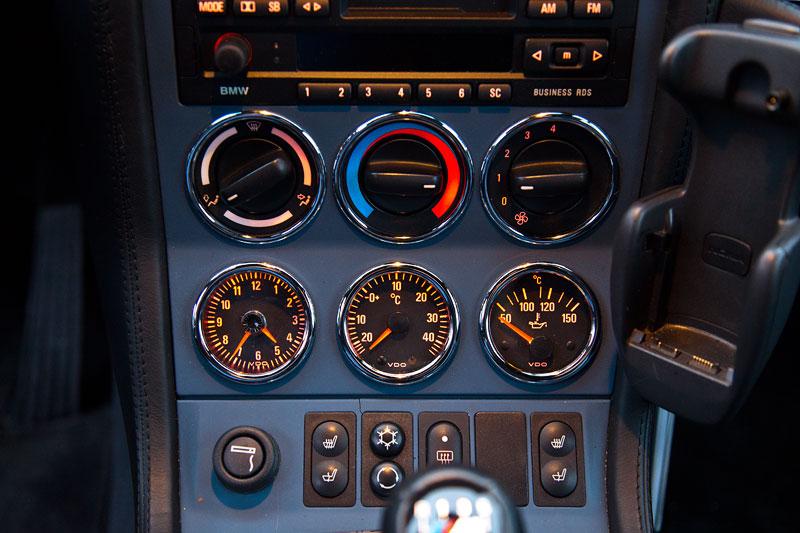 BMW M Z3 Coupé von Michael ('McTube'), Mittelkonsole