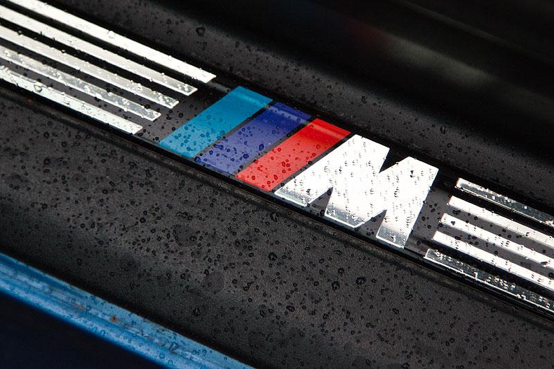 BMW M Z3 Coupé von Michael ('McTube'), M-Logo in der Türeinstiegsleiste