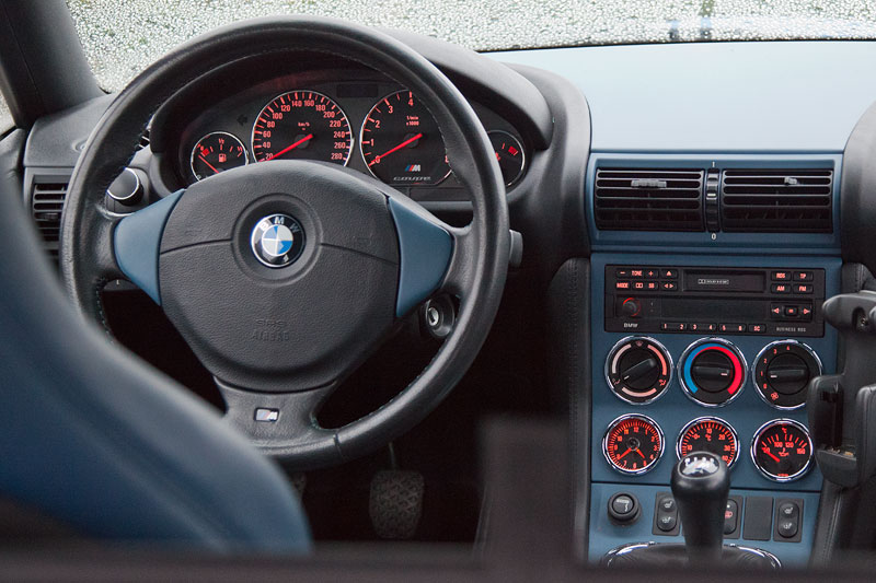 BMW M Z3 Coupé von Michael ('McTube'), Cockpit