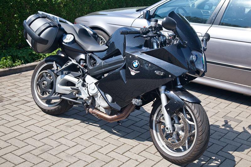 BMW F 800 ST von Daniel ('Fosgate') mit Spezial-Metallic Lack