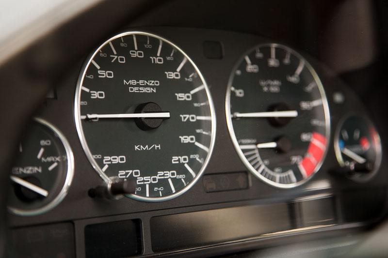 Tacho-Instrumente in Wilhelms ('WL7001') BMW 750i (E38), erstellt von guido ('M8-Enzo')