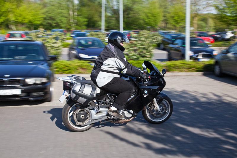 Daniel ('Fosgate') auf seiner BMW F 800 ST Maschine