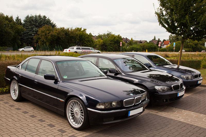BMW 7er-Stammtisch 'Rhein-Ruhr' im September 2013, Stammtisch-Parkplatz